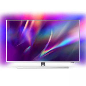 Телевизор Philips 43PUS8535/12, 43 инча (108 cm), UHD 4K LED 3840 x 2160, Android OS, LAN, Qwerty Remote, Grey, 43PUS8535/12