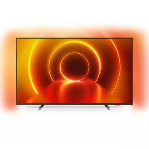 Телевизор Philips 65PUS7805/12, 65 инча (164 cm), UHD 4K LED 3840 x 2160, Saphi OS, 3 side Ambilight, Wifi N, LAN, Black, 65PUS7805/12