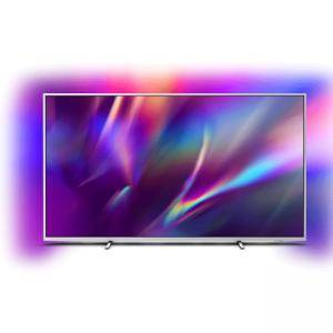 Телевизор Philips 70PUS8505/12, 70 инча (178 cm), UHD 4K OLED 3840 x 2160, Android OS, 3 side Ambilight, BT, Wifi a/c, LAN, Grey, 70PUS8505/12