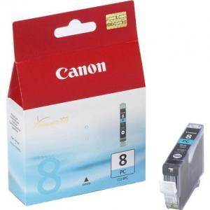 Мастилница Canon CLI-8 PC Photo Cyan Ink tank, 0624B001AF