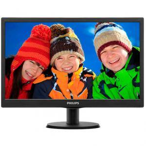 Монитор LED Philips 20 Slim LED 1600x900 HD 16:9 5ms 10 000 000:1 VGA, VESA, Piano black, 203V5LSB26/10