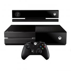 Игрова конзола - Microsoft Xbox One Black 500GB + Kinect