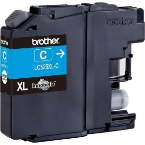 Brother LC-525 XL Cyan Ink Cartridge High Yield for DCP-J100, DCP-J105, MFC-J200 - LC525XLC