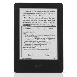 Четец за Е-книги NEW 2014 Amazon Kindle touch 4GB (6. gen) e-book reader - With Special Offers