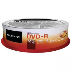 DVD-R Sony, 120min/4.7GB, 16x