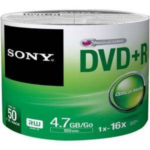 DVD+R Sony 120min/4.7GB, 16x