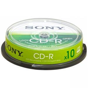 Sony CDR 48x 10pcs spindle