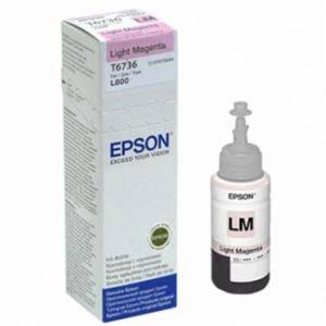 Мастило в бутилка Epson T6736 Light Magenta bottle, 70ml