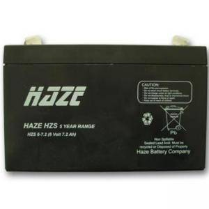 ОЛОВНА БАТЕРИЯ HAZE (HZS6-7.2) 6 V / 7.2 AH - 150 / 34 / 94 MM AGM, HAZE-6V-7.2-AGM