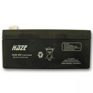 ОЛОВНА БАТЕРИЯ HAZE (HZS12-3.3) 12V / 3.3 AH - 134 / 67 / 61 MM AGM, HAZE-12V-3.3-AGM