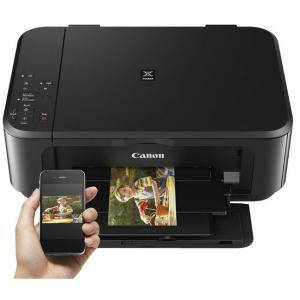 Мастилоструйно многофункционално устройство Canon PIXMA MG3650 All-In-One, Wi-Fi, Black - 0515C006AA