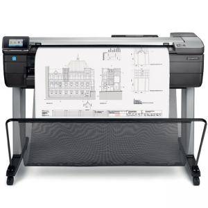 Мастилоструен плотер HP DesignJet T830 36-in MFP, HP Thermal Inkjet, Gigabit Ethernet (1000Base-T), Wi-Fi 802.11b/g/n, Wi-Fi Direct, USB, F9A30A