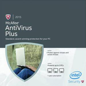 McAfee AntiVrisu Plus