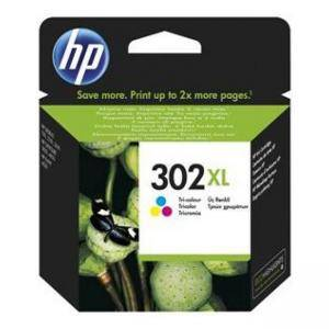 Тонер касета HP 302XL High Yield Tri-color Original Ink Cartridge