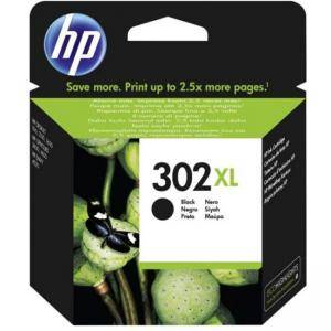 Мастилена касета HP 302XL Black Original Ink Cartridge, F6U68AE