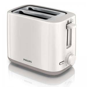 Тостер Philips Daily Collection  2 slot Compact Бял beige Reheat, HD2595/00