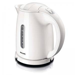Електрическа кана Philips Daily Collection  1.5 L 2400 W, White/Бяла
