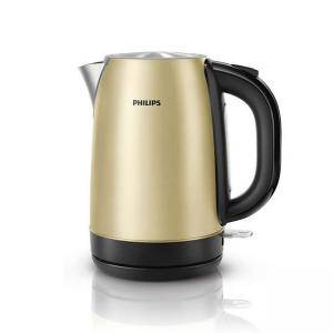 Електрическа кана Philips Champagne metal, 1.7 liter 2200 W HD9324/50