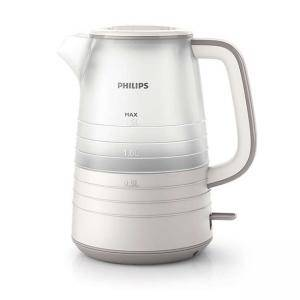 Електрическа кана Philips Daily Collection 1.5 liter, 2200 W White/Gray HD9336/21