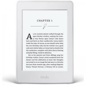ЧЕТЕЦ ЗА Е-КНИГИ NEW 2015 Бял Kindle Paperwhite III, 6 инча High-Resolution Display 300 ppi with Built-in Light, Wi-Fi - Includes Special Offers