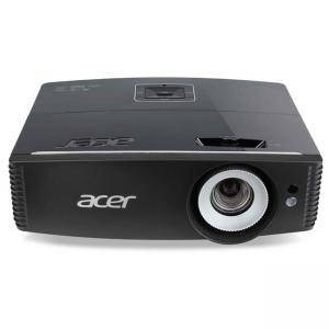 Мултимедиен проектор Acer Projector P6600, DLP, WUXGA (1920x1200), 20000:1, 5000 ANSI Lumens, 3D, HDMI/MHL, VGA, RCA, S-Video, Mic In, MR.JMH11.001