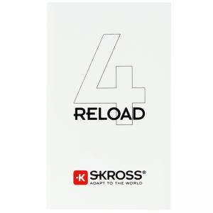 Външна батерия Skross RELOAD 4, 4000 mAh, Бяла