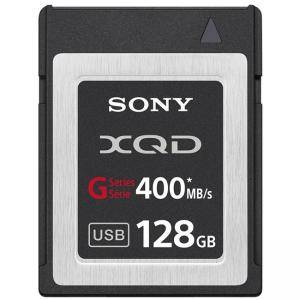 Карта памет Sony 128GB XQD G Series (read 400MB/s, write 350MB/s), QDG128E-R