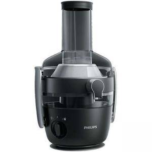 Сокоизстисквачка Philips Avance Collection QuickClean, 1000 W, XXL улей за подаване, Технология FiberBoost, Черна, HR1919/70