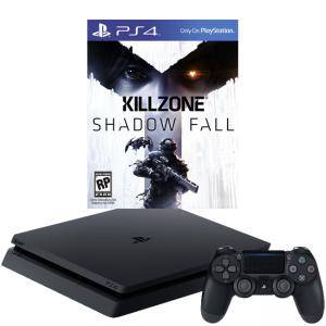 Конзола PlayStation 4 Slim 500GB Black, Sony PS4+Игра Killzone Shadow Fall - Season Pass PS4