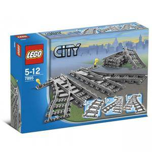 ЛЕГО сити - релси, LEGO City - Switch Tracks, 7895, Виж цена
