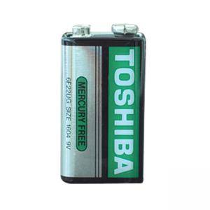Батерия TOSHIBA SUPER HEAVY DUTY 6F22U 9V 1 бр., 220002