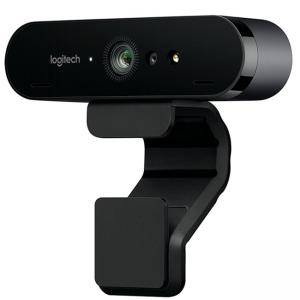 Logitech BRIO 4K Ultra HD webca, Черна, 960-001106