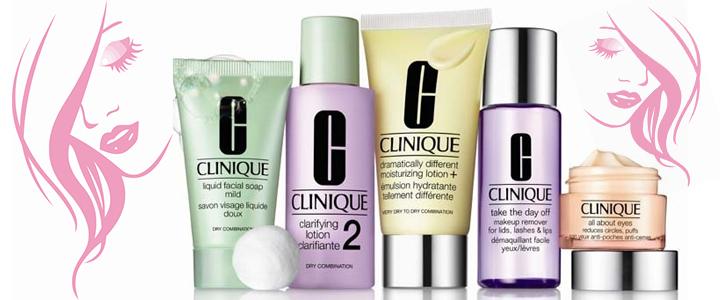 1b234987902 Комплект почистващи продукти Clinique 3 стъпки, Течен сапун за лице,  Овлажняващ крем, Почистващ лосион, ...