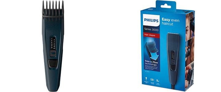 Машинка за подстригване Philips Series 3000 | HC3505/15, Синя, Виж цена