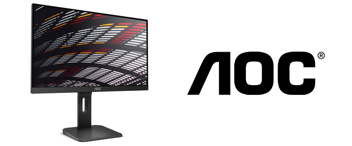 Монитор AOC 24P1, 23.8 инча FHD (1920x1080) Wide IPS LED, 5 ms, 1000:1, 50М:1 DCR, 250 cd/m2, USB, D-Sub, DVI, HDMI, DP, Headphone Out, 24P1