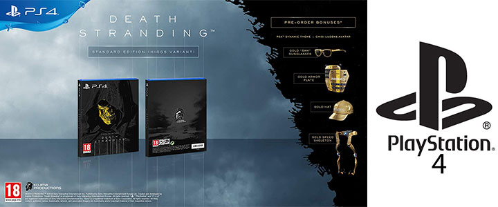 Игра Death Stranding Standard Edition PS4 (Higgs Variant) PS4